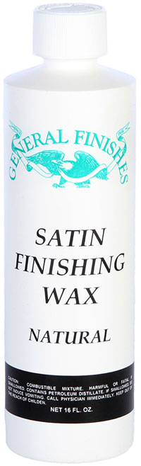 Satin Finishing Wax for Furniture Portland, OR
