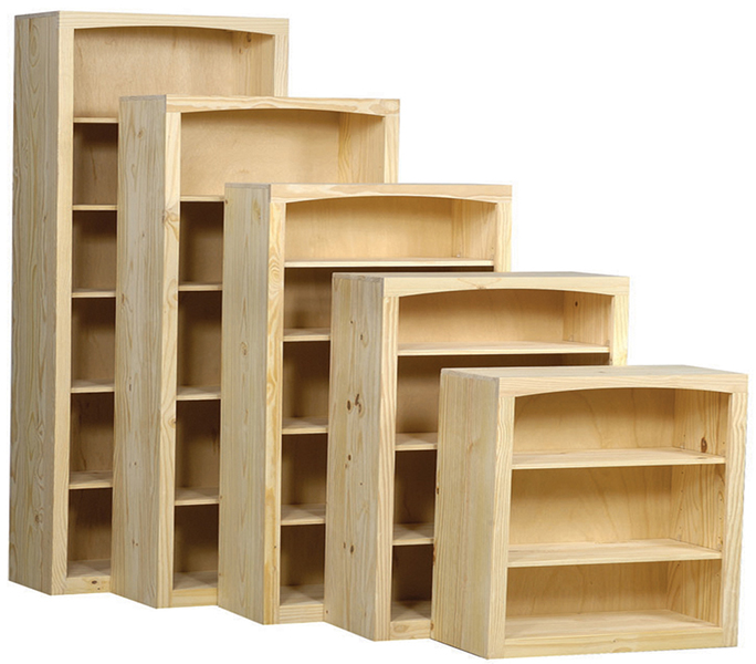 Pine 36 Inch Bookcase Portland Or Natural Furniture