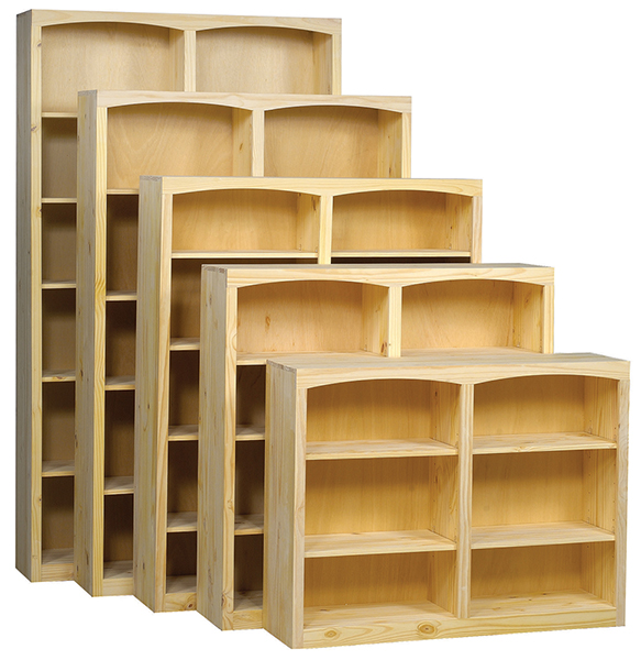 Pine 48 Inch Bookcase Portland Or Natural Furniture
