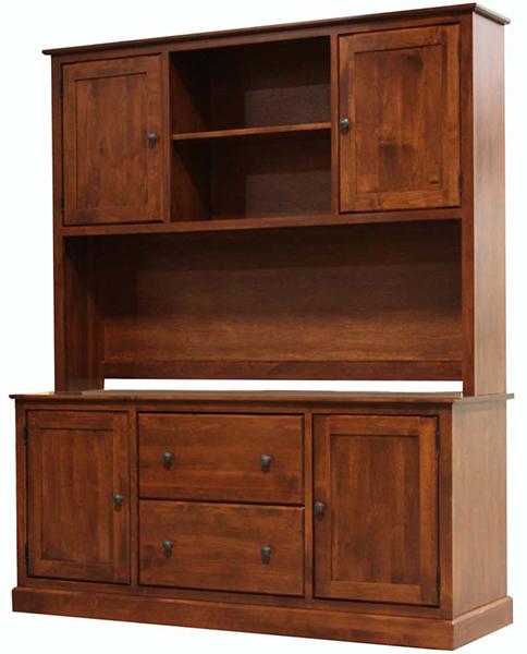Alder Hutch Natural Unfinished Furniture