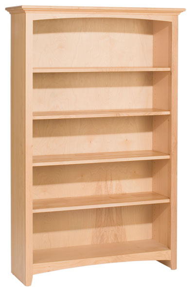 Alder Mckenzie Bookcase With 4 Adjustable Shelves