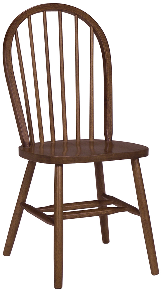 Parawood Windsor Chair Espresso Natural Unfinished