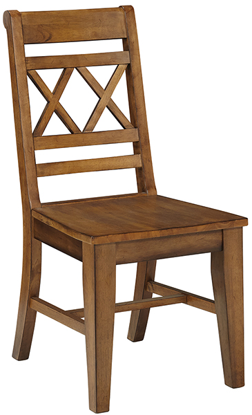 Parawood Canyon Xx Back Chair Pecan Natural Unfinished