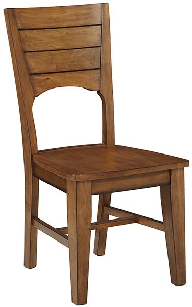 Parawood Canyon Full Back Chair Pecan Natural