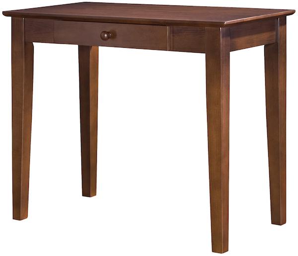 Parawood Student Desk Espresso Natural Furniture
