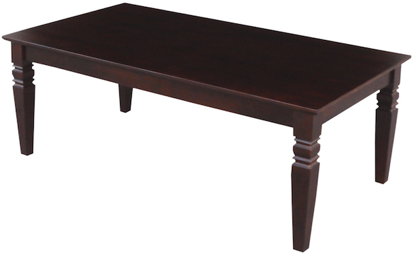 Parawood Java Coffee Table Rich Mocha Natural