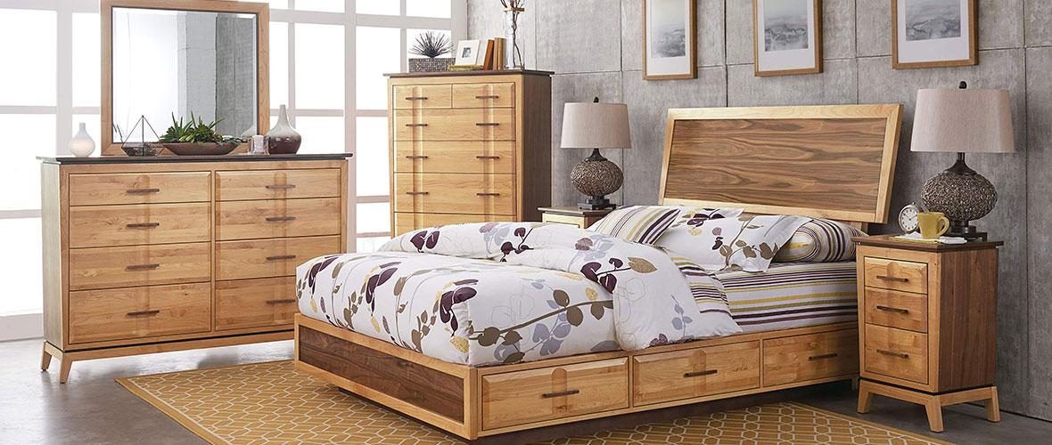 Custom Wood Bedroom FurnitureCustom Wood Bedroom Furniture From Natural  Furniture Of Portland. Choose Your Wood, Style, Size, Finish And Hardware.