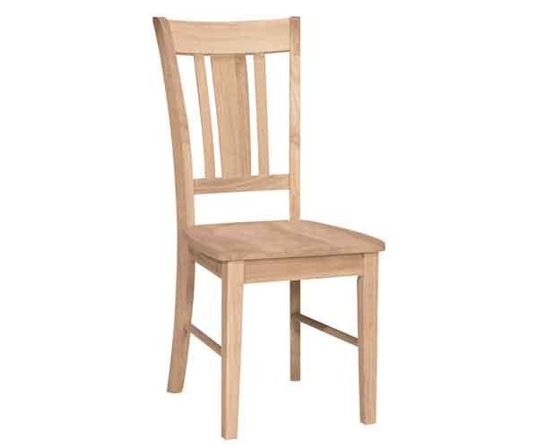 Parawood San Remo Chair Portland Or Natural Furniture